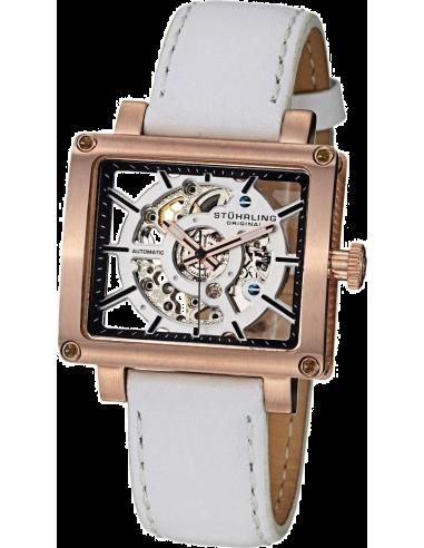 Chic Time   Montre Femme Stuhrling Original Legacy 258.124P2 Blanc    Prix : 179,00€