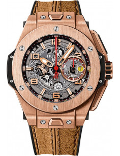 Chic Time | Montre Homme Hublot Big Bang 401.OX.0123.VR Marron  | Prix : 38,200.00