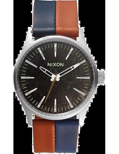Chic Time | Montre Homme Nixon Sentry A377-1957 Bleu  | Prix : 130,00€