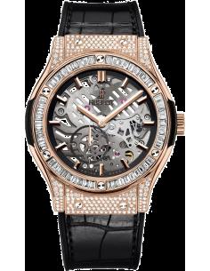 Chic Time   Montre Homme Hublot Classic Fusion 515.OX.0180.LR Noir    Prix : 28,100.00