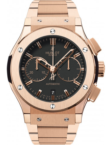 Chic Time   Montre Homme Hublot Classic Fusion 521.OX.1180.OX Or    Prix : 40,100.00