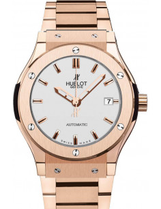 Chic Time | Montre Homme Hublot Classic Fusion 521.OX.2610.OX Or Rose  | Prix : 40,100.00