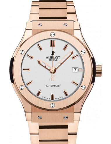 Chic Time   Montre Homme Hublot Classic Fusion 521.OX.2610.OX Or Rose    Prix : 40,100.00