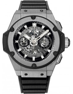 Chic Time | Montre Homme Hublot King Power 701.NX.0170.RX Noir  | Prix : 19,100.00