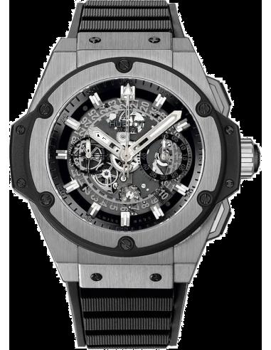 Chic Time | Montre Homme Hublot King Power 701.NX.0170.RX Noir  | Prix : 19,100.00