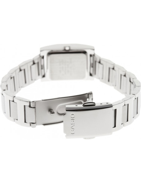 Chic Time | Montre femme Casio LTP-1283D-2ADF Boîtier carré Cadran bleu clair  | Prix : 28,10€