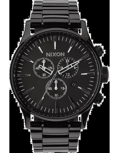 Chic Time | Montre Homme Nixon Sentry A386-1885 Noir  | Prix : 320,00€