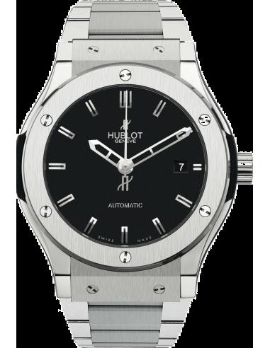 Chic Time | Montre Homme Hublot Classic Fusion 511.ZX.1170.NX Argent  | Prix : 7,400.00