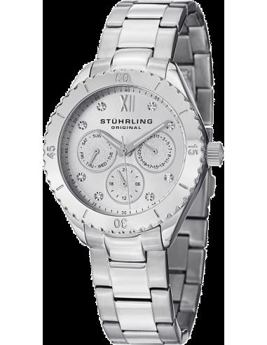 Chic Time | Montre Femme Stuhrling Original Aquadiver 549.01 Argent  | Prix : 209,00€