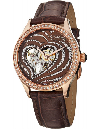 Chic Time | Montre Femme Stuhrling Original Vogue 429.2245K59 Marron  | Prix : 249,00 €