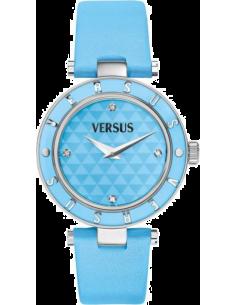 Chic Time | Montre Femme Versus by Versace Logo SP8010013 Bleu  | Prix : 149,00€