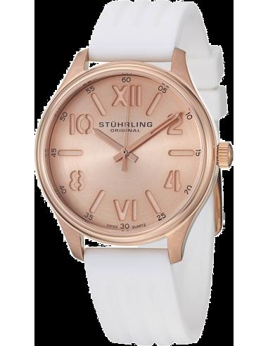 Chic Time   Montre Femme Stuhrling Original Vogue 565L.03 Blanc    Prix : 69,00€
