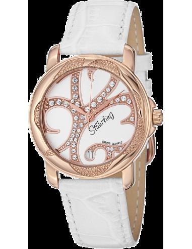 Chic Time   Montre Femme Stuhrling Original Vogue 138.124P2 Blanc    Prix : 109,00€