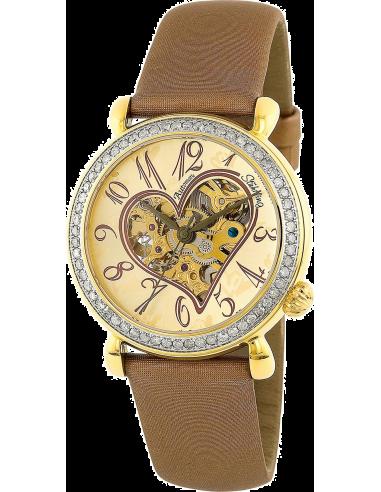 Chic Time | Montre Femme Stuhrling Original Vogue 109S.1235E31 Marron  | Prix : 199,00€
