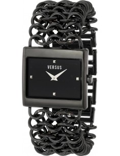 Chic Time | Montre Femme Versus by Versace 3C64900000 Noir  | Prix : 389,00€