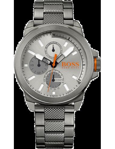 Chic Time   Montre Homme Boss Orange 1513158 Gris    Prix : 237,15€