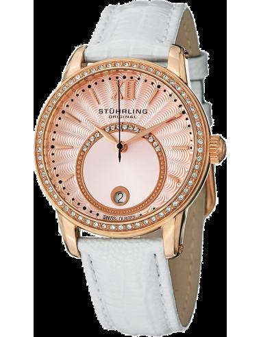 Chic Time   Montre Femme Stuhrling Original Vogue 544.1145W4 Blanc    Prix : 129,00€