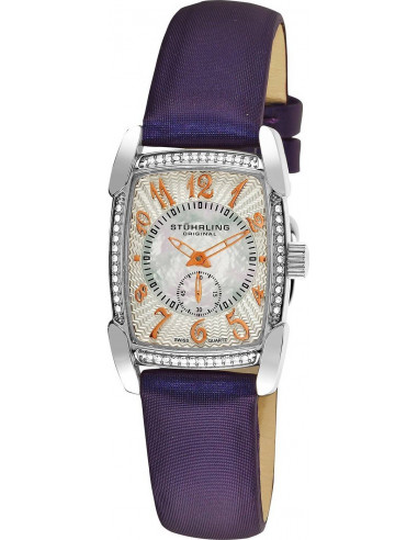 Chic Time | Montre Femme Stuhrling Original Vogue 163A.121Q2 Violet  | Prix : 99,00 €