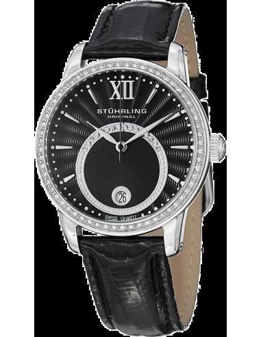 Chic Time | Montre Femme Stuhrling Original Vogue 544.11151 Noir  | Prix : 109,00€