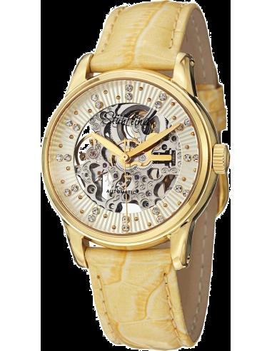 Chic Time   Montre Femme Stuhrling Original Legacy 576.1135E15 Jaune    Prix : 229,00€