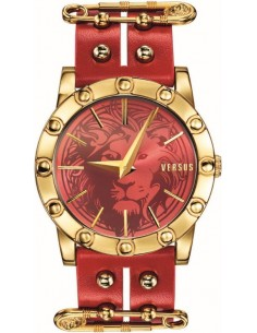 Chic Time | Montre Femme Versus by Versace Miami SF7040014 Rouge  | Prix : 329,00 €