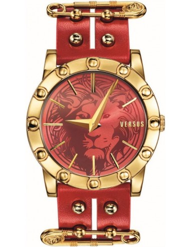 Chic Time | Montre Femme Versus by Versace Miami SF7040014 Rouge  | Prix : 329,00€