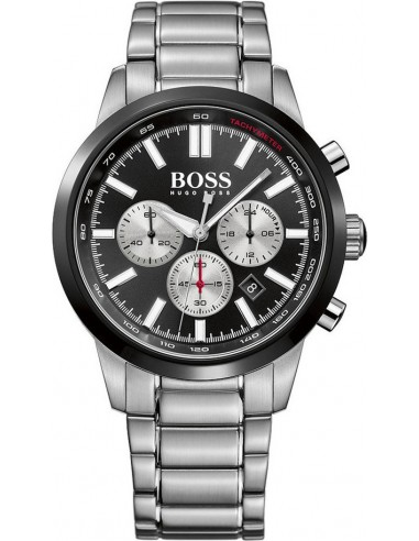 Chic Time   Montre Homme Hugo Boss 1513189 Argent    Prix : 509,15€