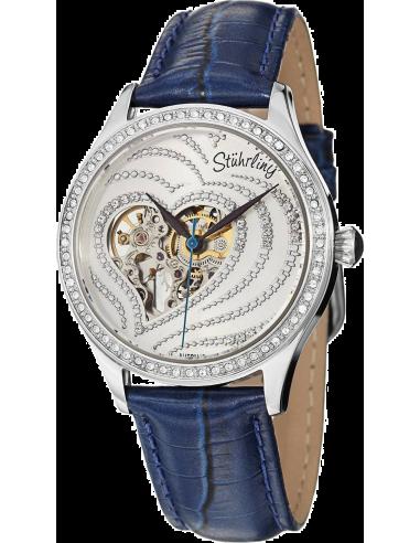 Chic Time | Montre Femme Stuhrling Original Vogue 429.2215C2 Bleu  | Prix : 229,00€
