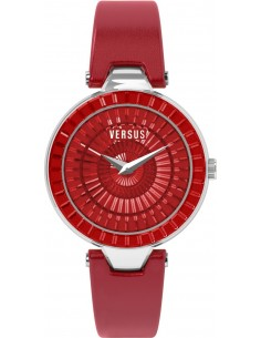 Chic Time | Montre Femme Versus by Versace 3C72200000 Rouge  | Prix : 239,00€