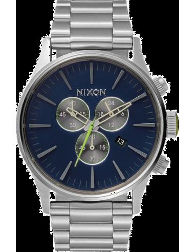 Chic Time   Montre Homme Nixon A386-1981 Argent    Prix : 320,00€