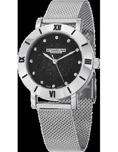 Chic Time   Montre Femme Stuhrling Original Aquadiver 738.02 Argent    Prix : 89,00€