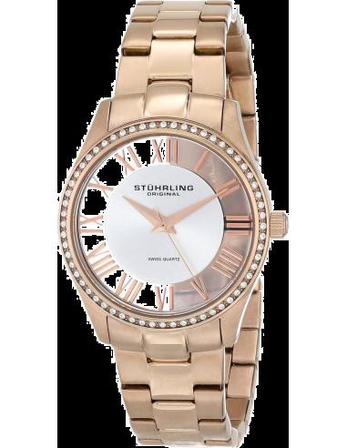Chic Time   Montre Femme Stuhrling Original Vogue 750L.03 Or Rose    Prix : 149,00€