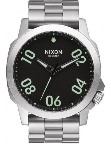 Chic Time   Montre Homme Nixon Ranger A521-000 Argent    Prix : 220,00€