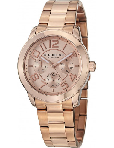 Chic Time | Montre Femme Stuhrling Original Monaco 807.03 Or Rose  | Prix : 159,00 €