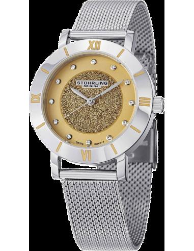 Chic Time   Montre Femme Stuhrling Original Aquadiver 738.03 Argent    Prix : 179,00€