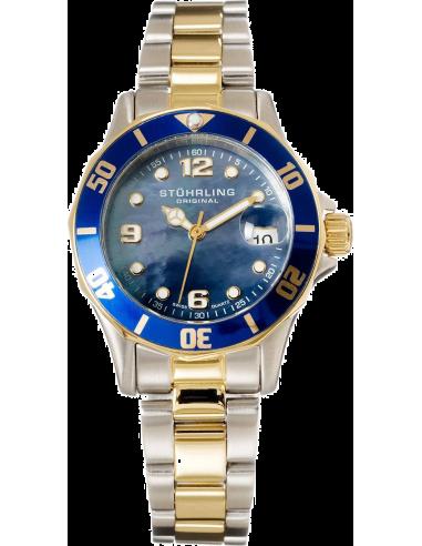 Chic Time | Montre Femme Stuhrling Original Aquadiver 157.112238 Argent  | Prix : 399,00€