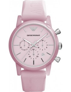 Chic Time | Montre Armani Classic AR1056 Rose Sport  | Prix : 149,00€