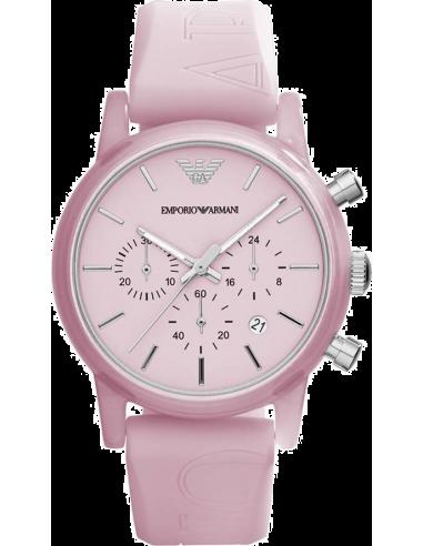 Chic Time | Montre Emporio Armani Classic AR1056 Rose Sport  | Prix : 99,50€