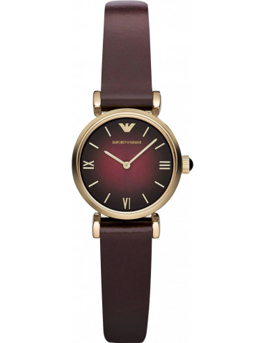 Chic Time | Montre Femme Emporio Armani AR1758 Marron  | Prix : 295,00€