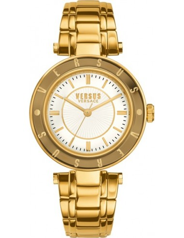 Chic Time | Montre Femme Versus by Versace Logo SP8200015 Or  | Prix : 249,00 €