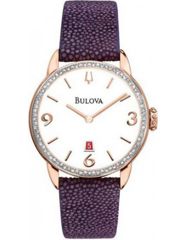 Chic Time | Montre Femme Bulova 98R196 Violet  | Prix : 699,00€
