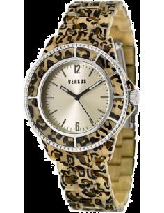 Chic Time | Montre Femme Versus by Versace Tokyo SOF050014 Marron  | Prix : 269,00€