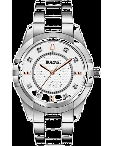 Chic Time | Montre Femme Bulova 98P135 Argent  | Prix : 399,00€