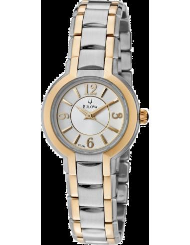 Chic Time   Montre Femme Bulova 98L153 Argent    Prix : 275,00€