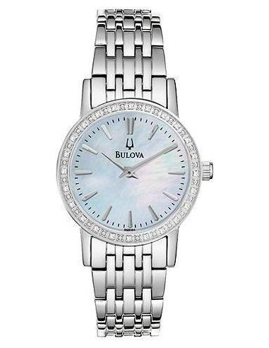 Chic Time | Montre Femme Bulova 96R164 Argent  | Prix : 299,00€