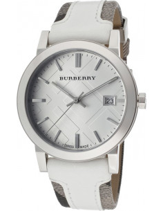 Chic Time | Montre Homme Burberry BU9019 Blanc  | Prix : 399,00 €