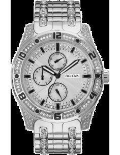 Chic Time | Montre Homme Bulova Crystal 96C106 Argent  | Prix : 399,00€