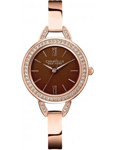 Chic Time | Montre Femme Caravelle by Bulova 44L134 Or Rose  | Prix : 129,00 €