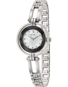 Chic Time | Montre Femme Bulova 96L159 Argent  | Prix : 255,00€