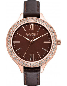 Chic Time | Montre Femme Caravelle by Bulova 44L124 Marron  | Prix : 85,00 €